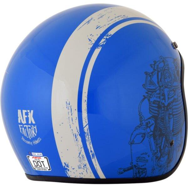 Casco AFX Raceway Azul