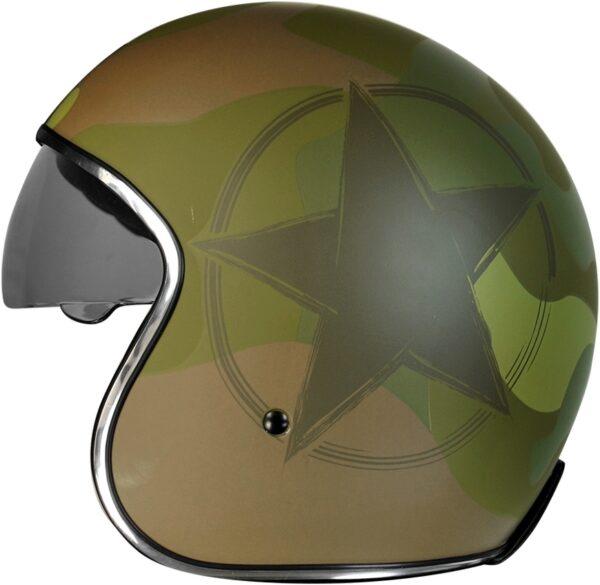 Casco jet Origine Army