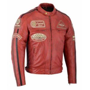 Chaqueta Roja Vintage