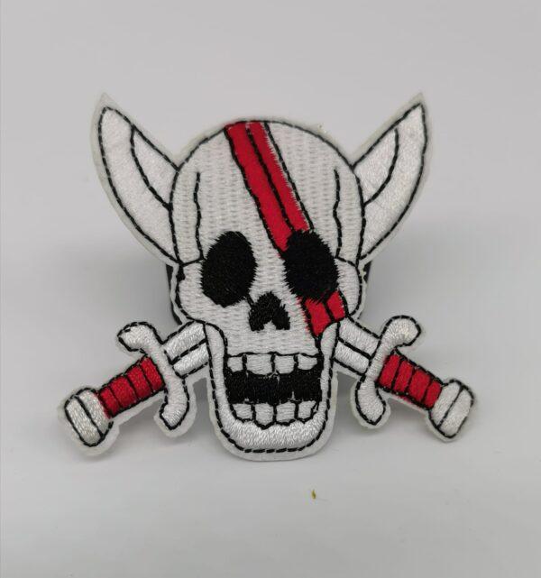 Parche skull pirate