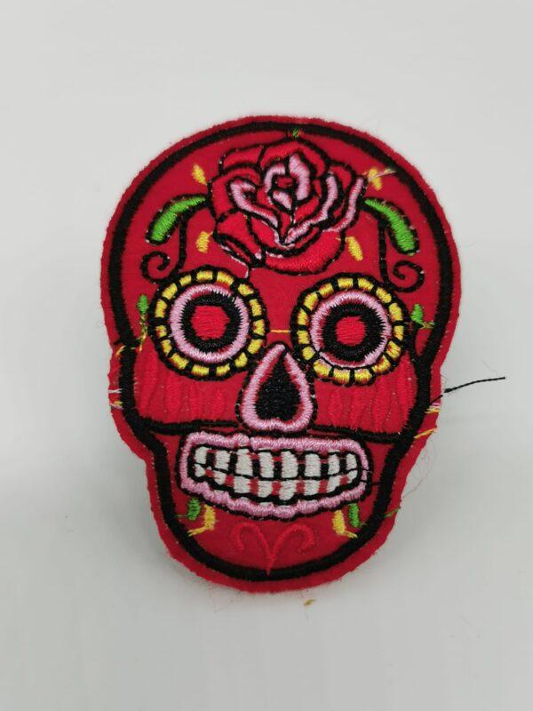 Parche Skull Mexican