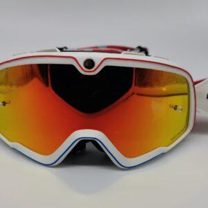 Gafas Retro motocross Rock Or Die blancas