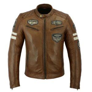 Chaqueta moto vintage Milano