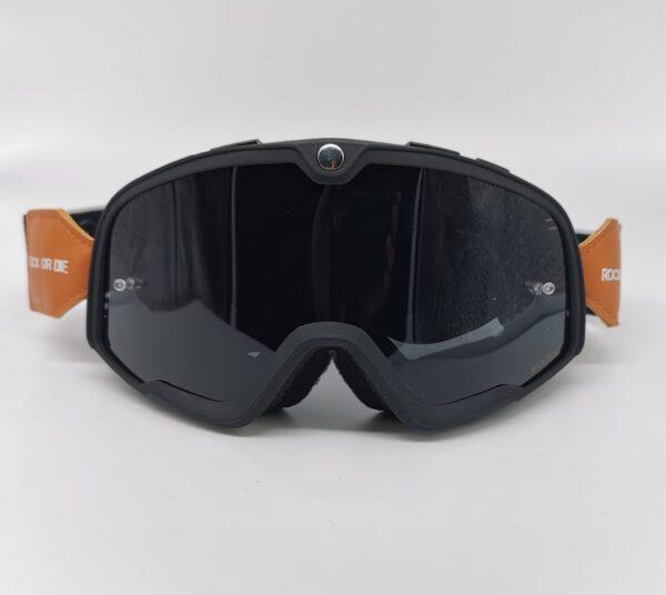 Gafas Retro motocross Rock Or Die negras