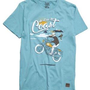 Camiseta do it on the coast aqua