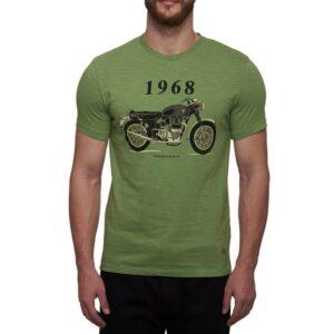 Camiseta Royal Enfield Phoenix 1968 Green