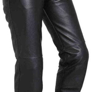 Pantalón piel moto mujer Segura