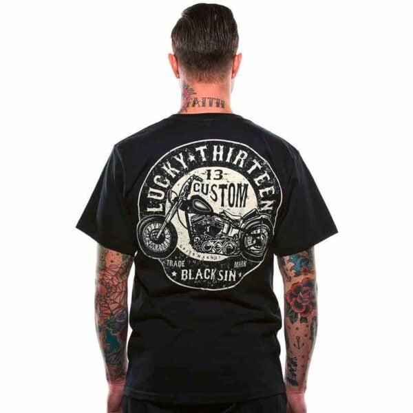 Camiseta Custom Black Sin