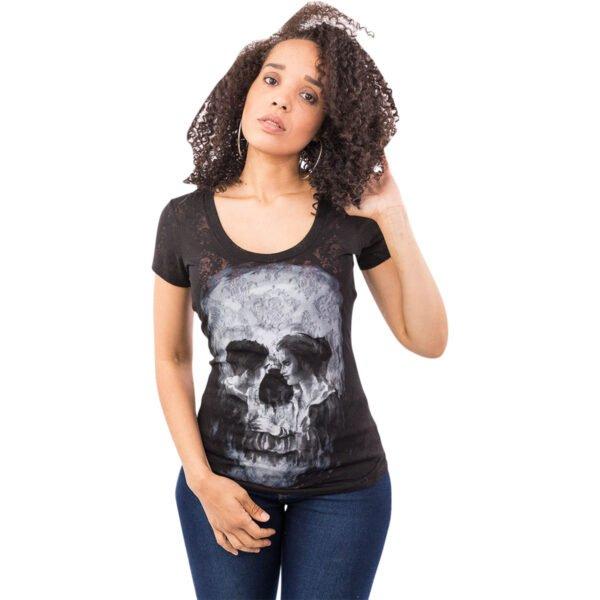 Camiseta chica SKULL Coup 2