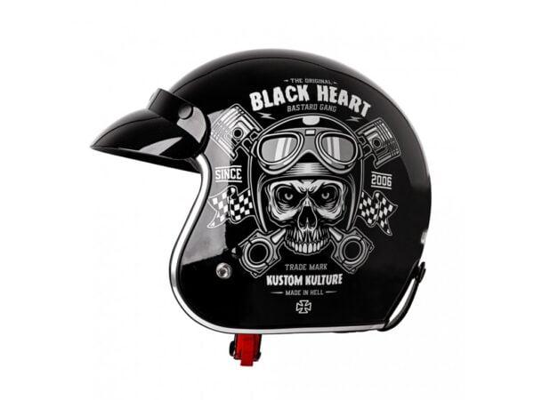 Casco de moto Piston Skull