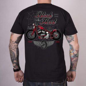 Camiseta custom Red Baron Chopper