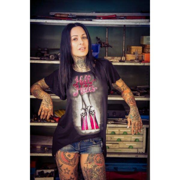 Camiseta mujer Hell On Heels