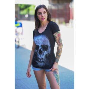 Camiseta chica SKULL Coup