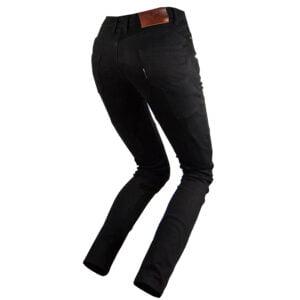 Pantalon moto mujer Push Up Negro