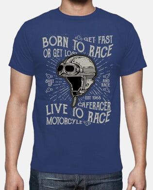 Camiseta motera Born To Race