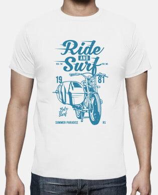 Camiseta Ride and surf
