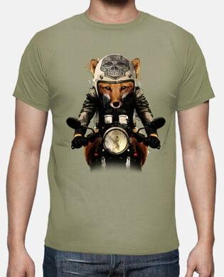 Camiseta Café Racer Fox
